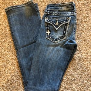 Light washed jeans - 35 inseam